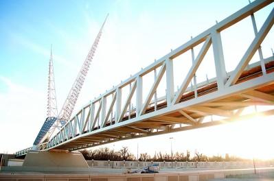 Skydance Bridge, Photo OKC Chamber of Commerce